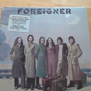 Foreigner vinyl record